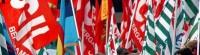bandiere-sindacati cgil, cisl e uil