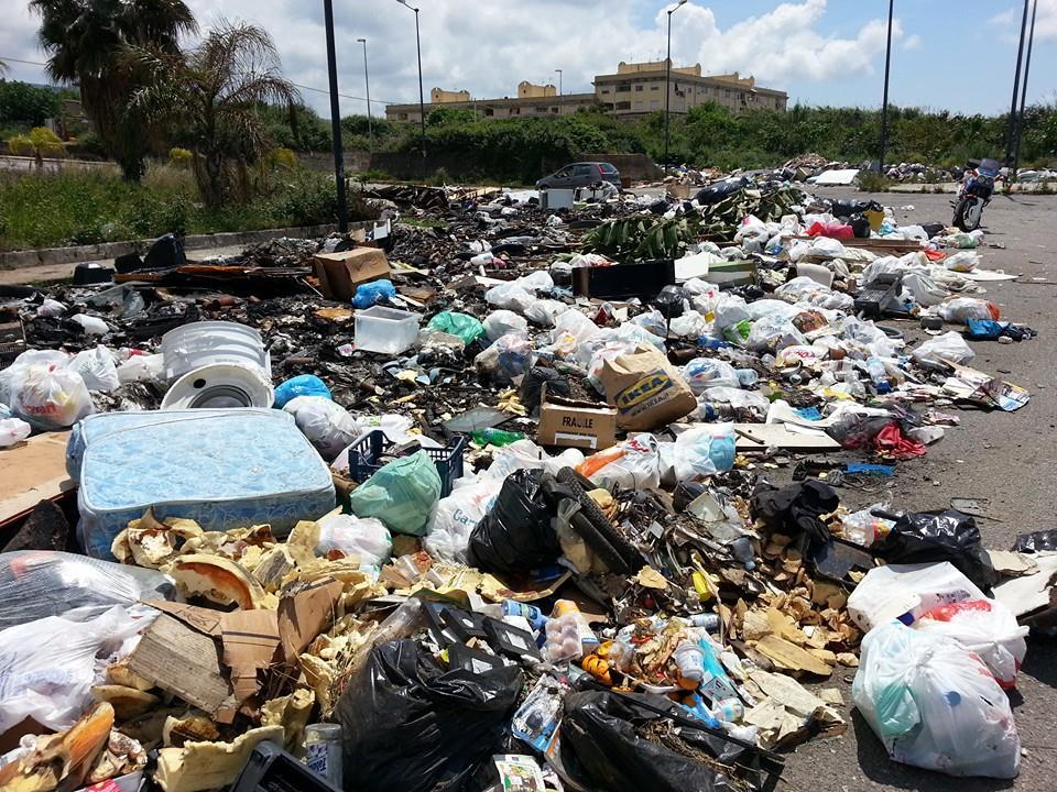 rifiuti arghillà
