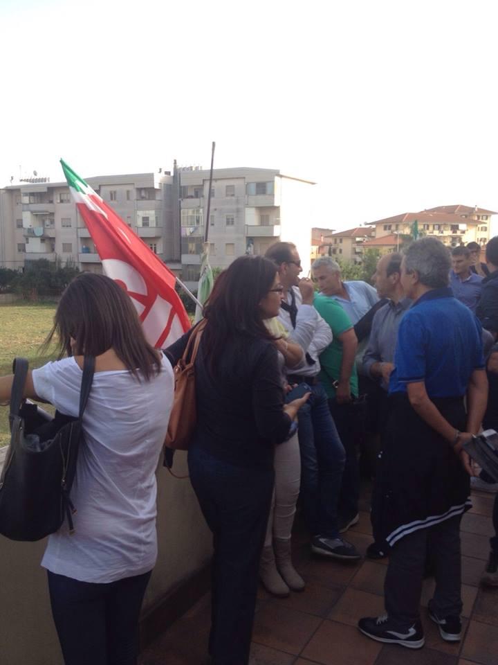 Cgil protesta PD