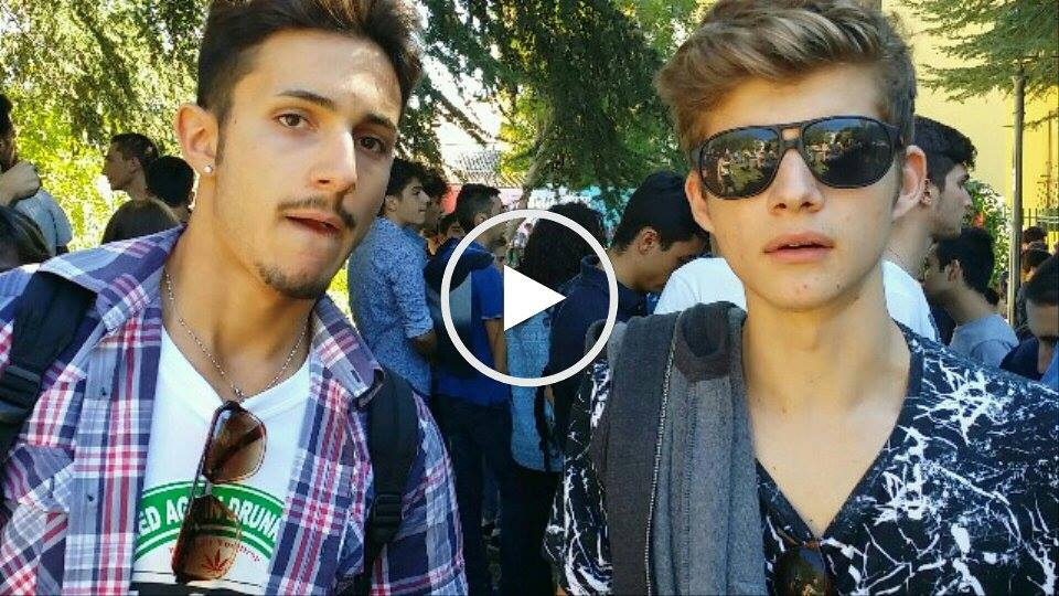 Manifestazione studentesca Catanzaro Video interviste