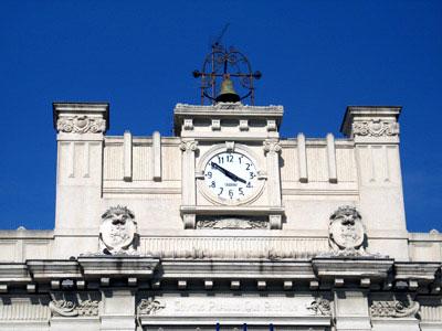 orologio palazzo san giorgio