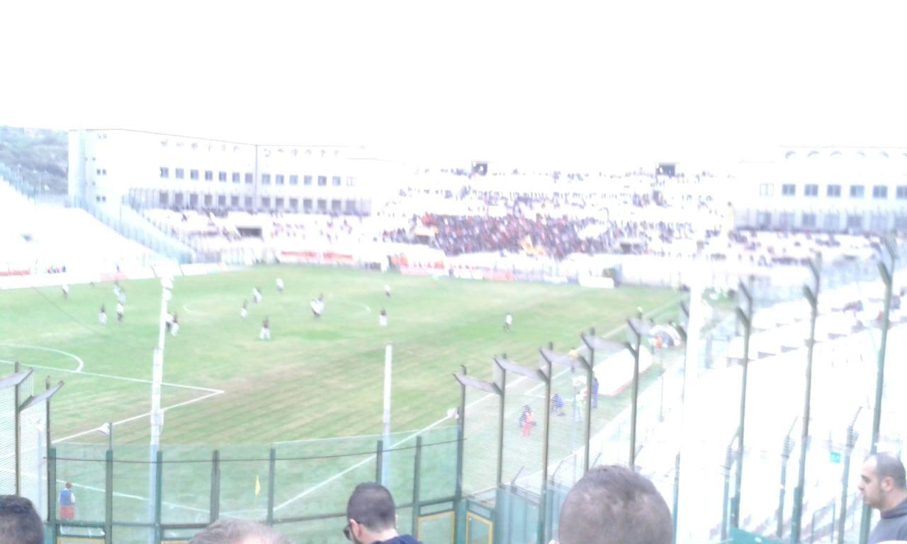 Calcio partita Messina - Catanzaro