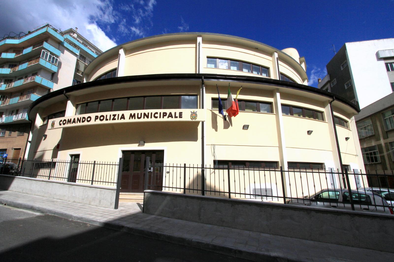 Comando Polizia locale municipale Catanzaro vigili