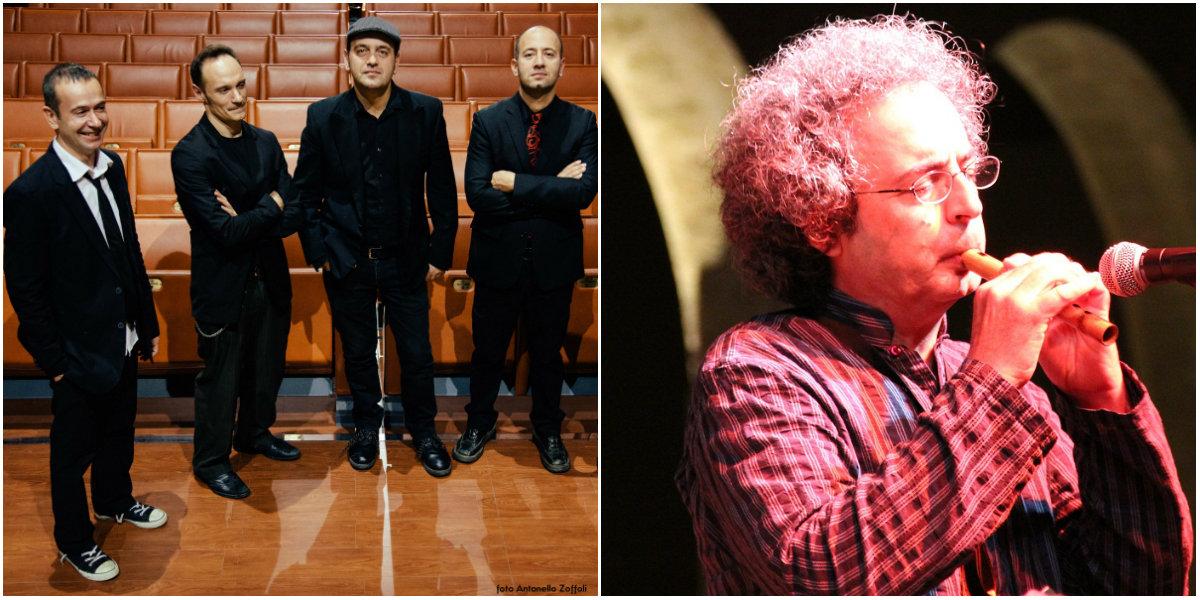Filarmonica Messina Quintorigo e Giancarlo Parisi