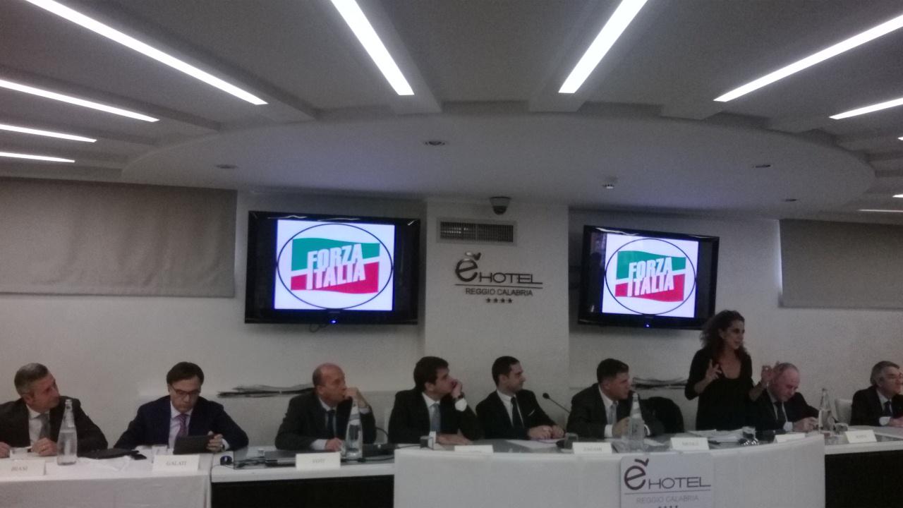 convegno Forza Italia
