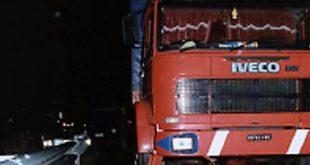 Morte di Bergamini camion