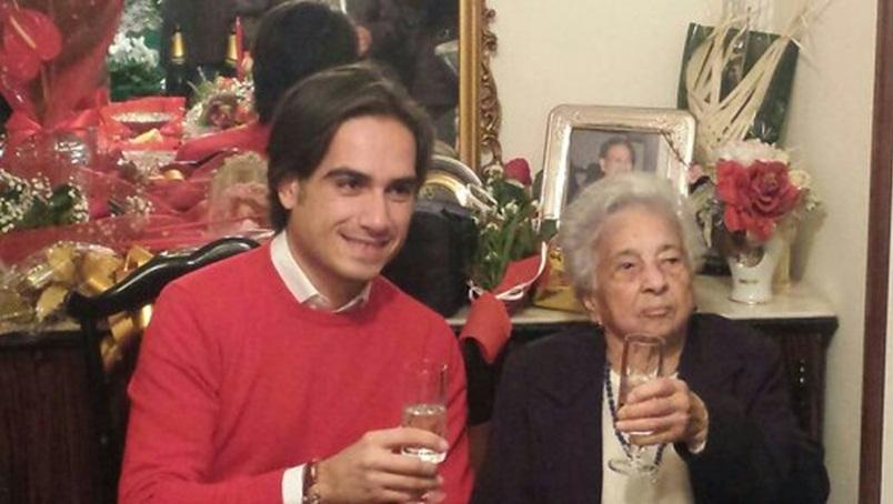 Nono centenaria Reggio, foto con sindaco