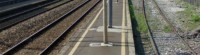 ferrovia binari treno