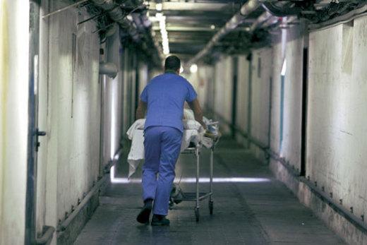 Barella pronto soccorso ospedale