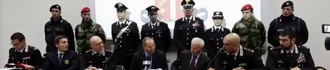 Conferenza stampa operazione Aemilia