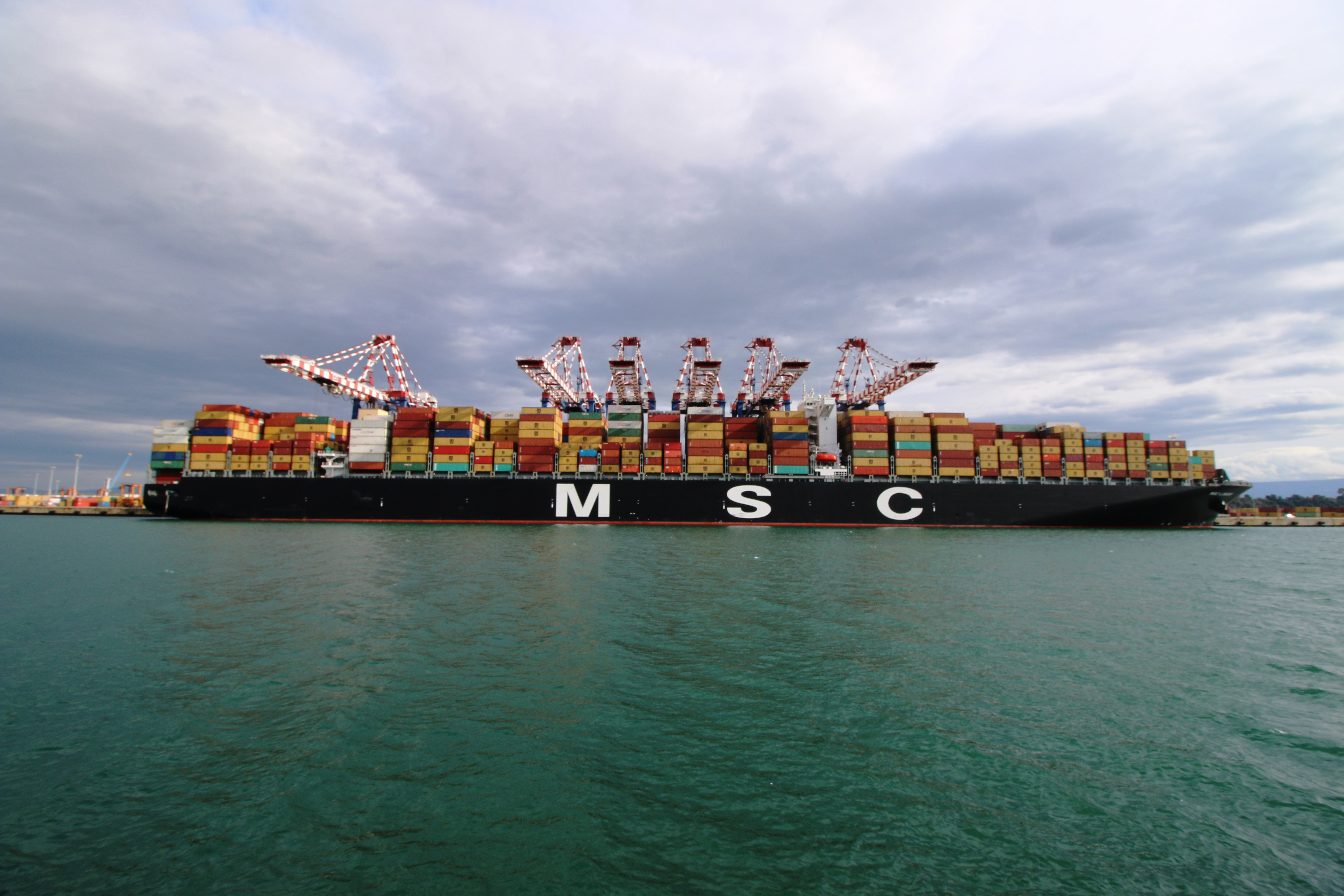 MSC London in Gioia Tauro