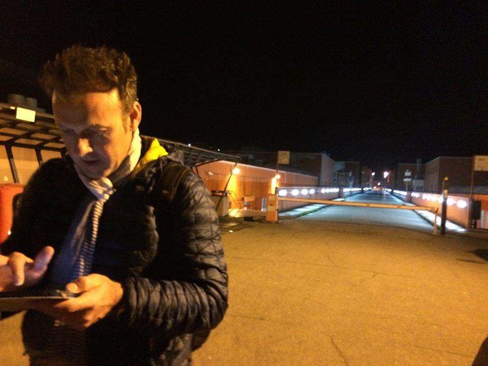 Mauro Fiore - Sopralluoghi nel Campus di Arcavacata