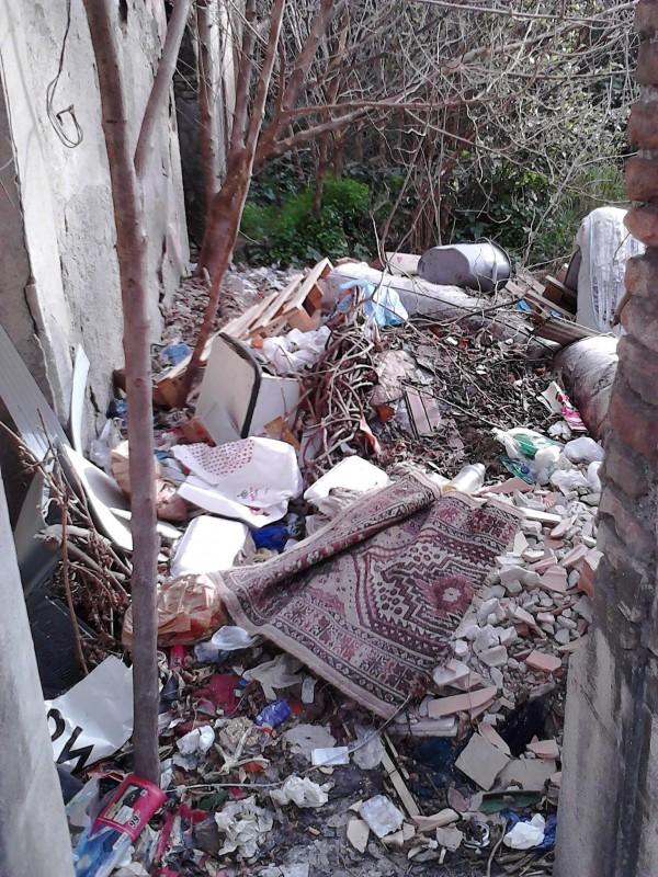 Reggio Villa Guarna a Sbarre abbandonata