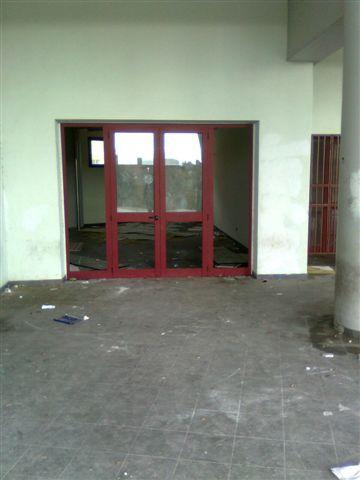 Reggio danni al Terminal Atm