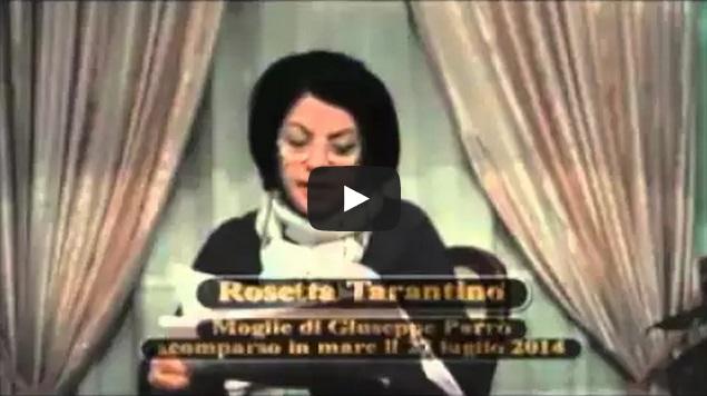 Rosetta Tarantino moglie del disperso a Simeri Mare