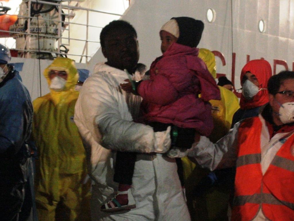 Sbarco Migranti Corigliano