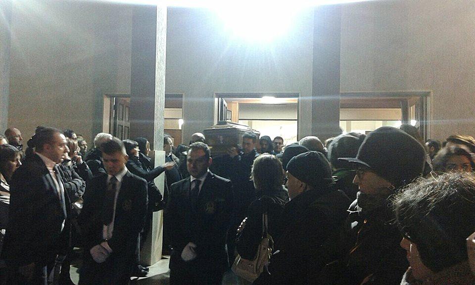 Funerali Massimo Bevacqua
