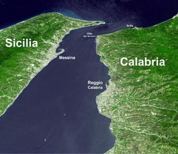 Trasporti Calabria Sicilia Protesta