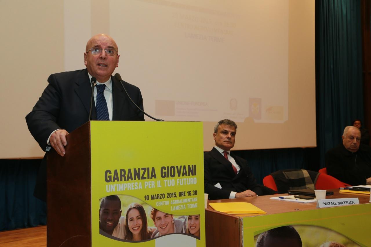 Oliverio Garanzia Giovani