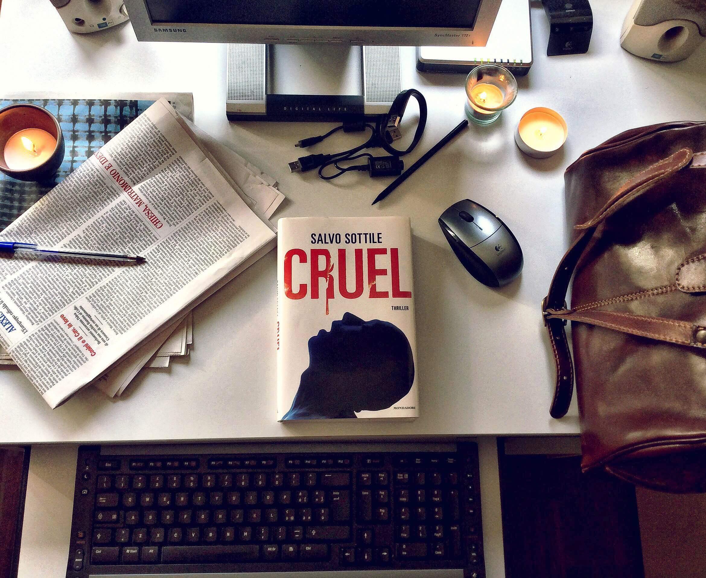 Cruel il thriller di Salvo Sottile