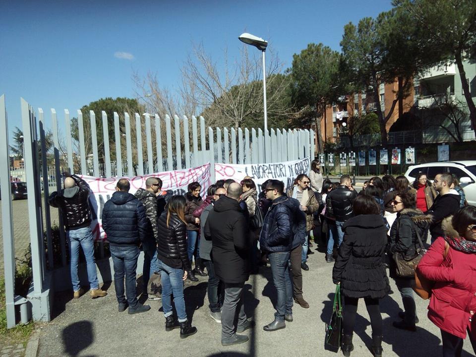 Infocontact protesta Rai