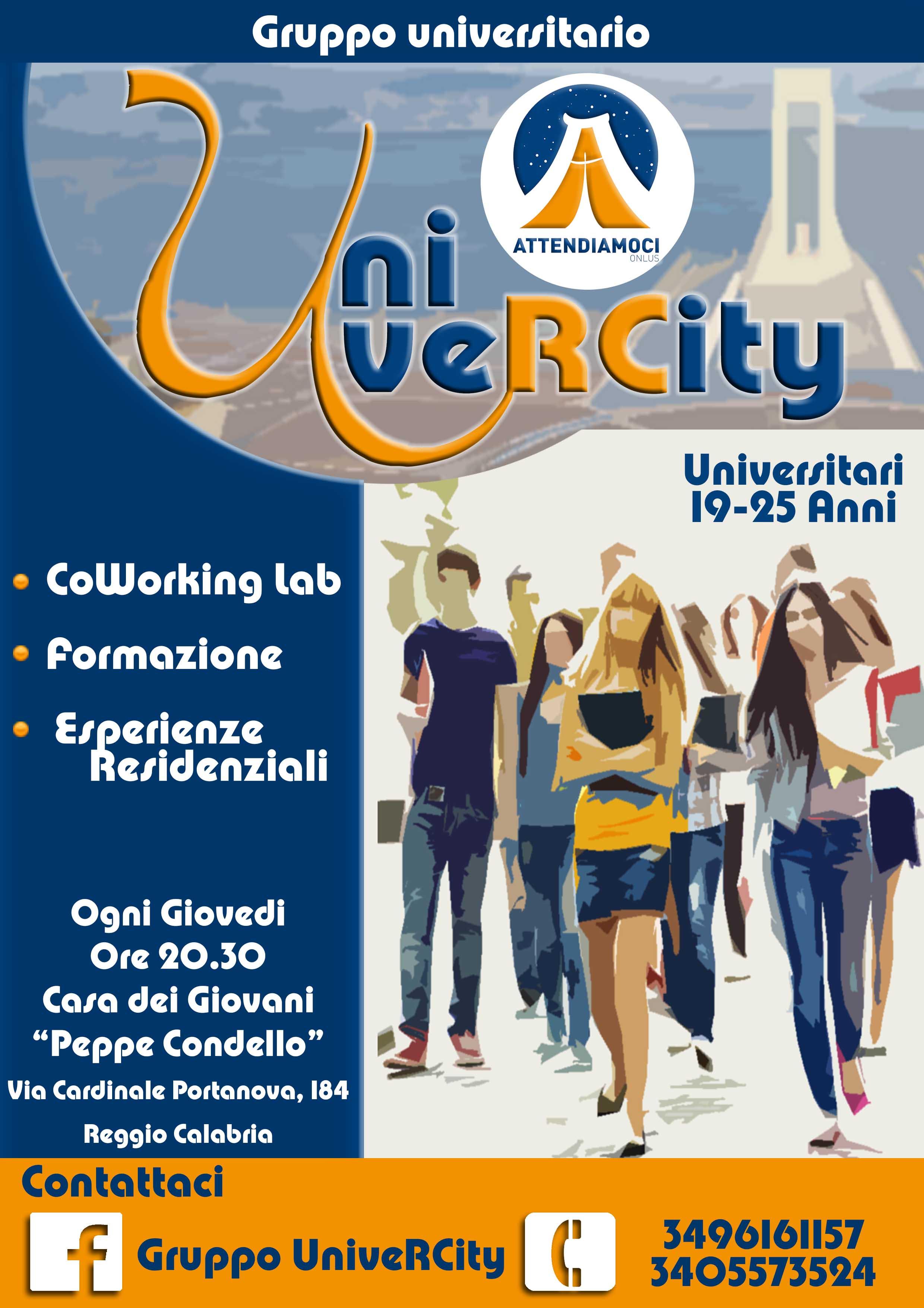 Locandina UniverCity