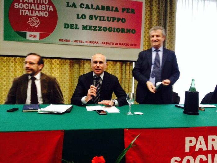 Il viceministro Riccardo Nencini a Cosenza