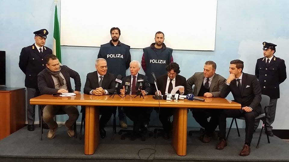 Omicidio Patania conferenza stampa Questura Catanzaro