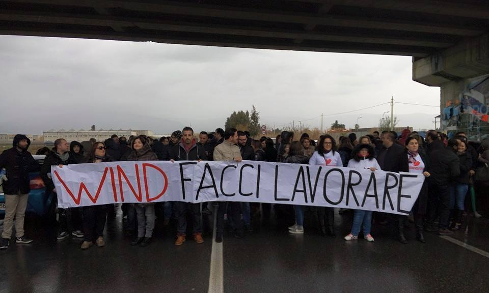Protesta Infocontact Lamezia 3
