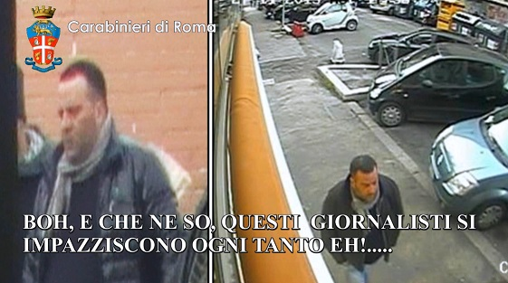 Sequestro Coluccio Roma 2
