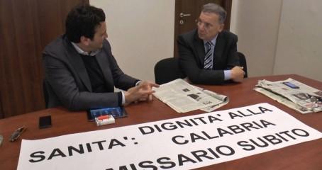 Tallini e Orsomarso occupano uffici commissario Sanità a Catanzaro