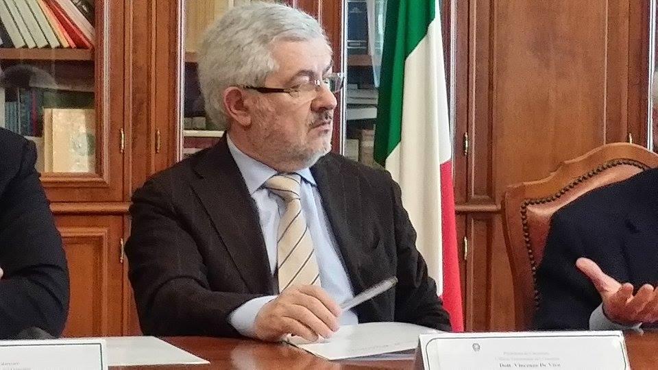 Vincenzo De Vivo prefetto Crotone