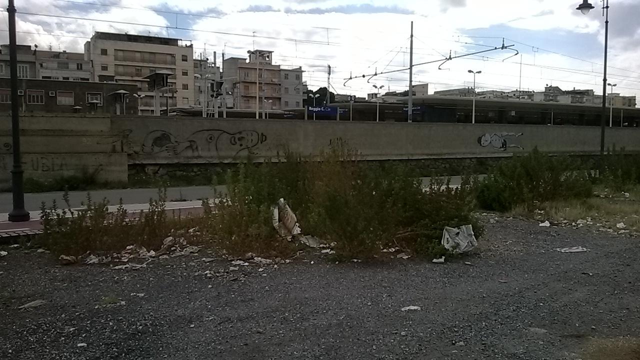 Tempietto abbandonato Reggio