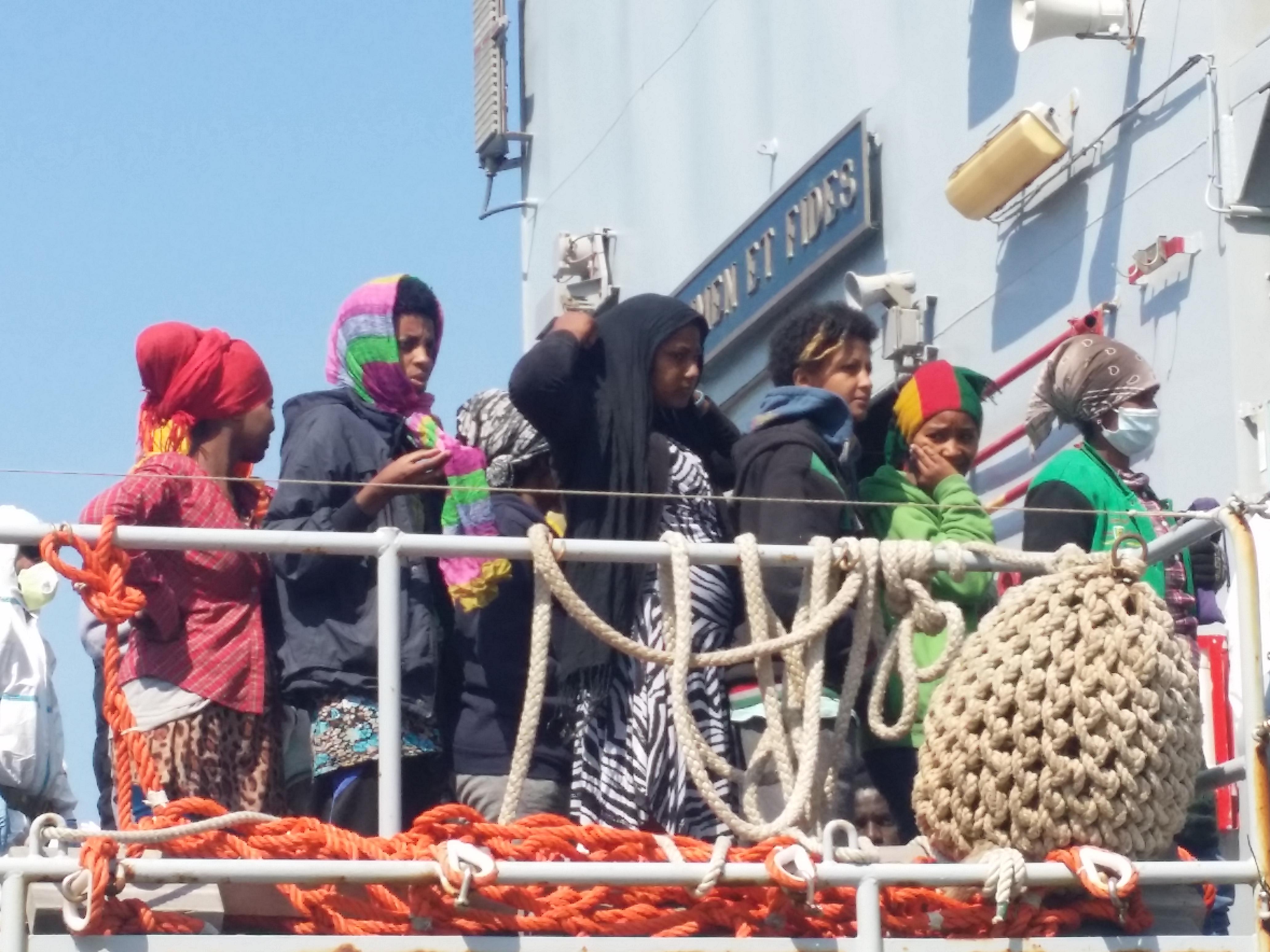 migranti porto di reggio