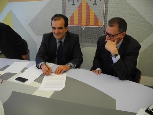 Firma intesa Rocco Guglielmo Provincia Catanzaro
