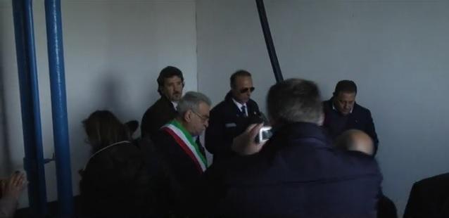 Peppino Vallone apre serbatoio Crotone