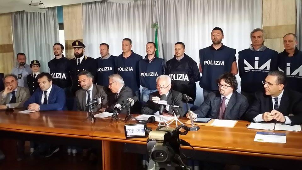 Arresti Catanzaro cosca Iannazzo