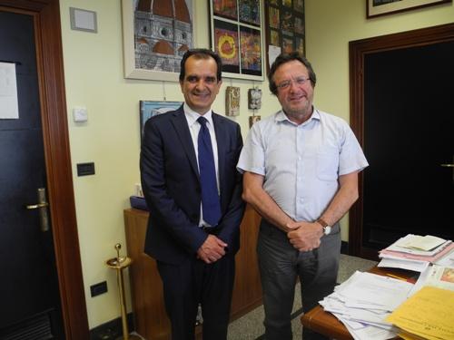 Catanzaro – Enzo Bruno incontra presidente tribunale minori Trovato