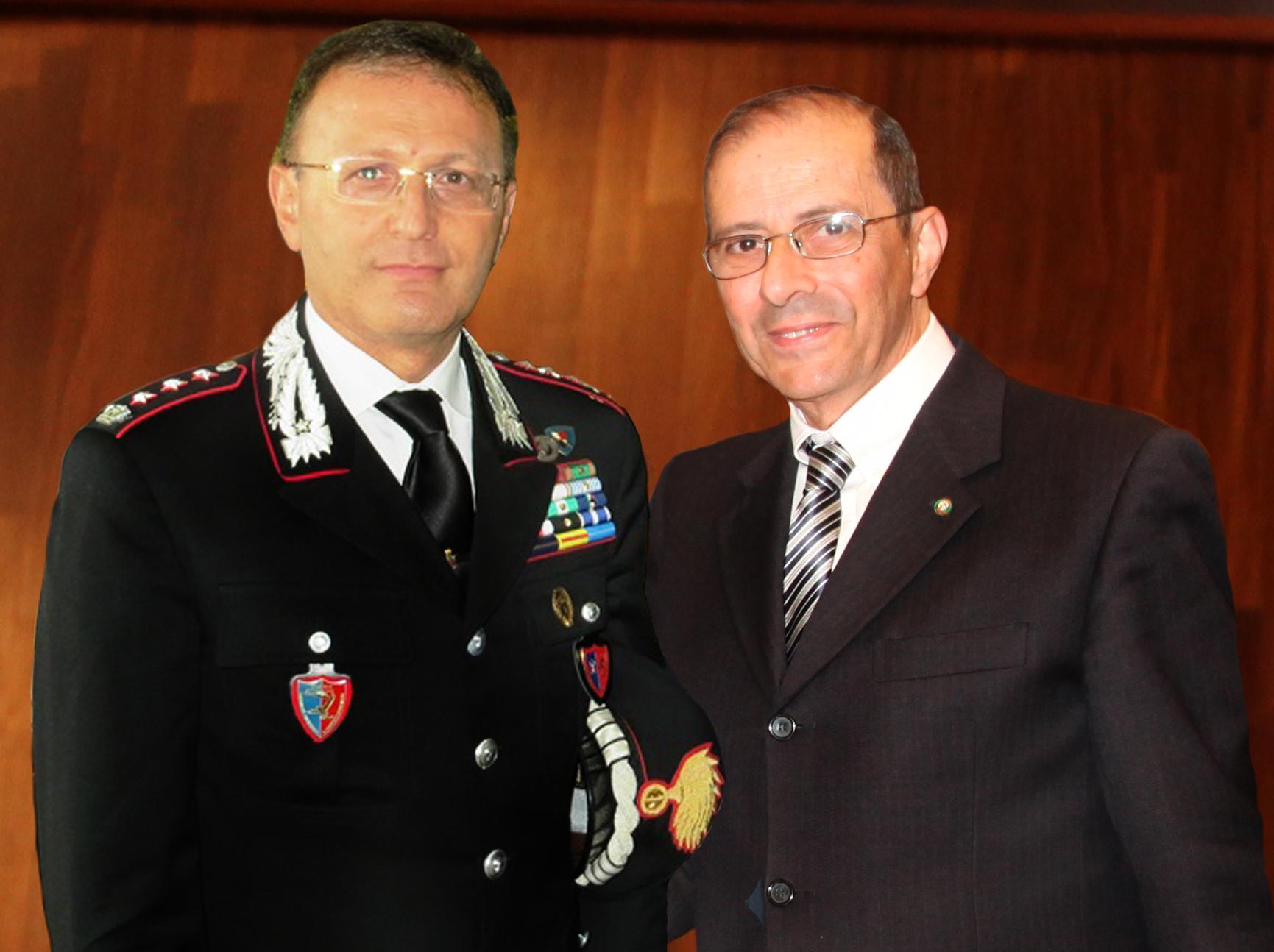 Giacomo Oliva e Salvatore Gagliano