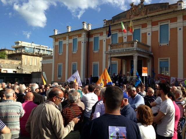 Foto manifestazione Piemonte 22.05.15