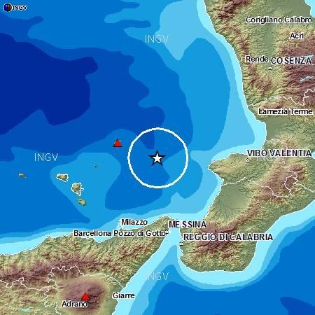 Terremoto Tirreno