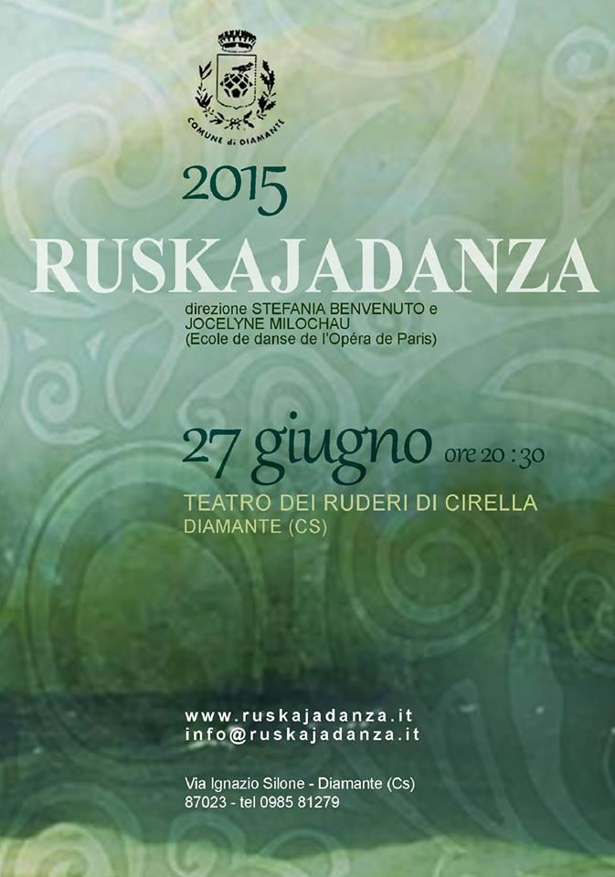 Spettacolo di danza Reskuja