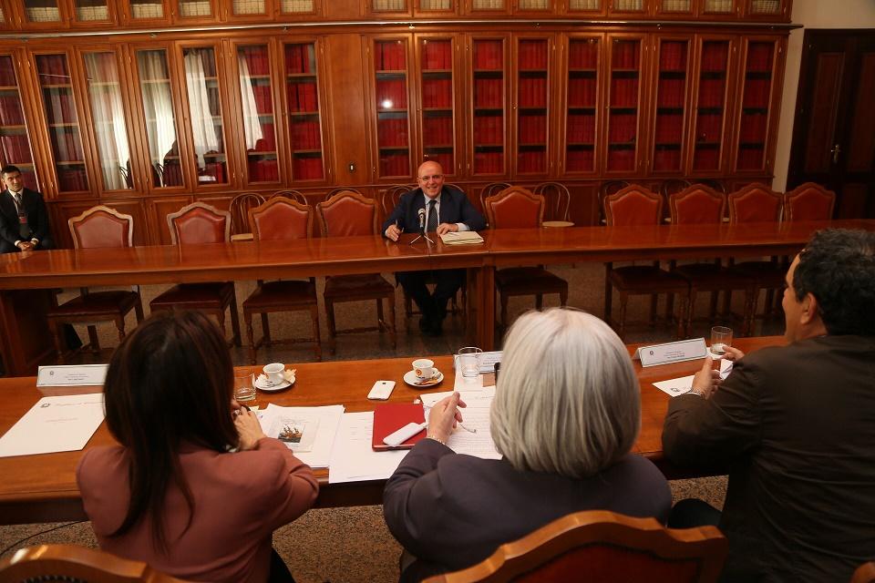 Commissione parlamentare Antimafia audizione Oliverio