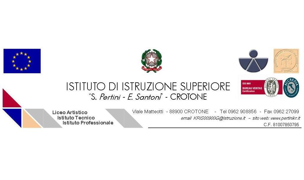 Crotone istituto superiore Pertini