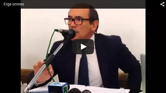 Erga omnes - Cafiero De Raho video