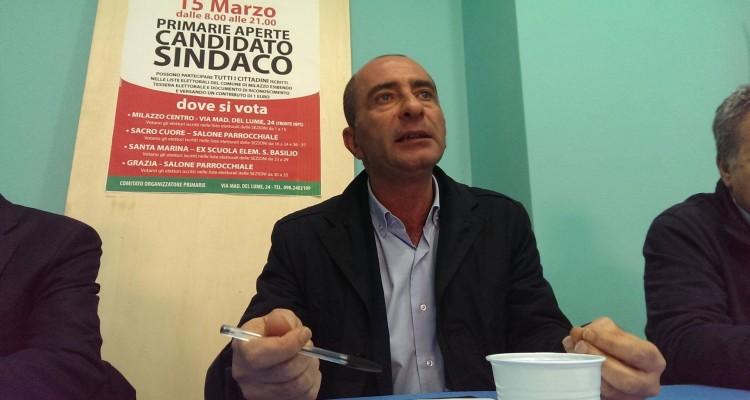 Giovanni Formica sindaco di Milazzo