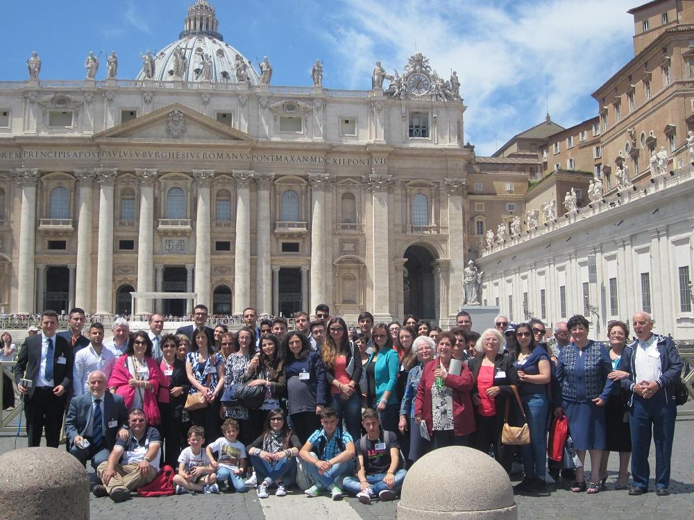 Gruppo a San Pietro