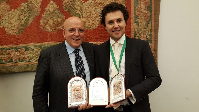 Luigi con il Presidente On. Mario Oliverio