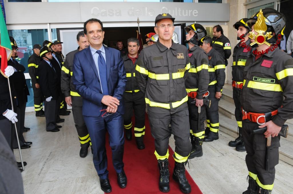 Vigili del fuoco Catanzaro inaugurazione mostra storica (1)