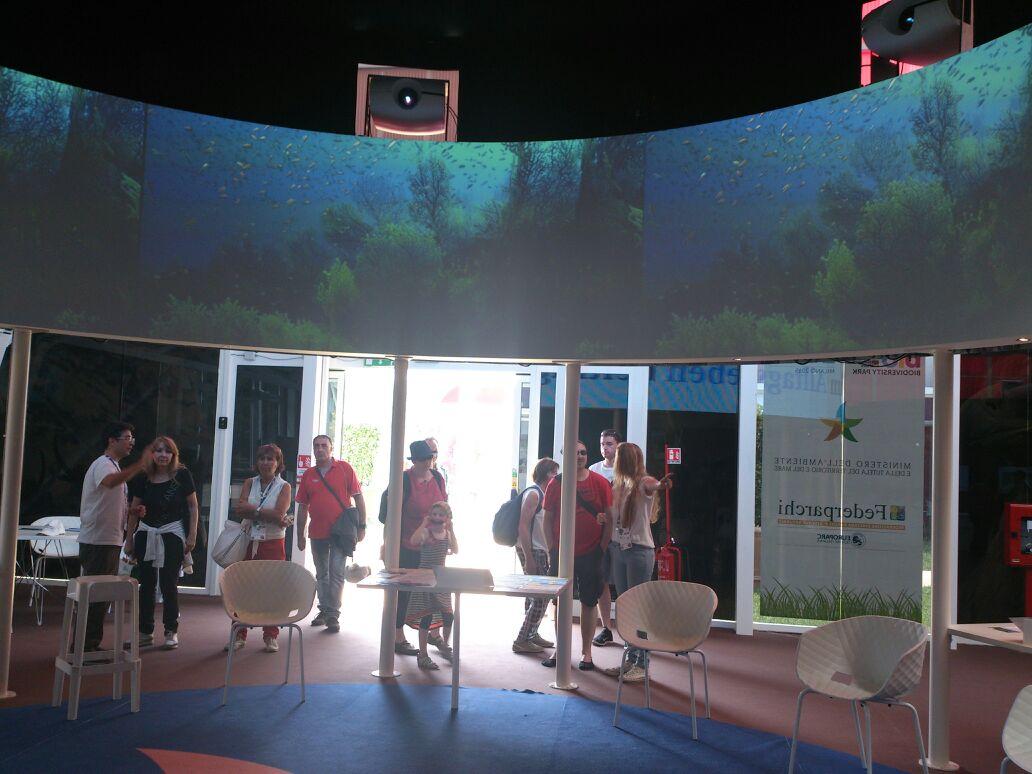 padiglione expo Parco Aspromonte